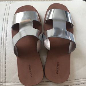 Via Spiga Rubber Sole Sandals